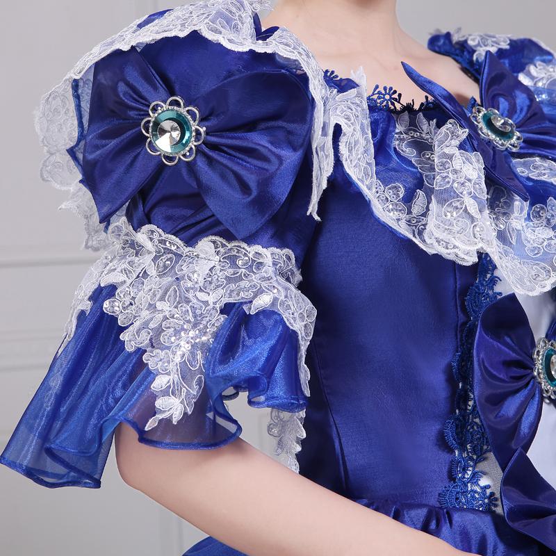 中世舞台衣装をイメージしたドレス3