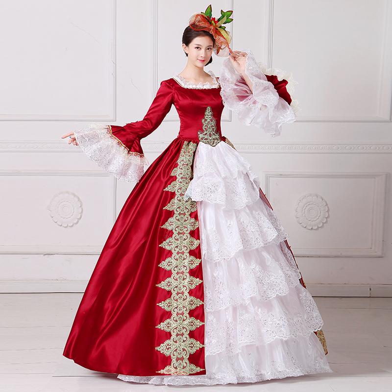 中世舞台衣装をイメージしたドレス2