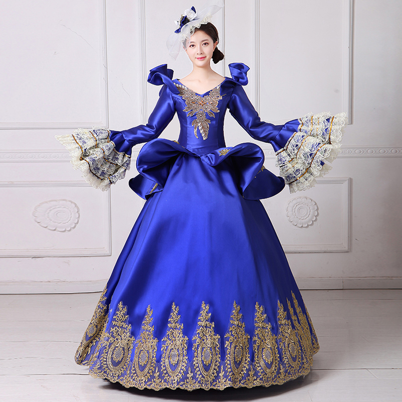 中世舞台衣装をイメージしたドレス4