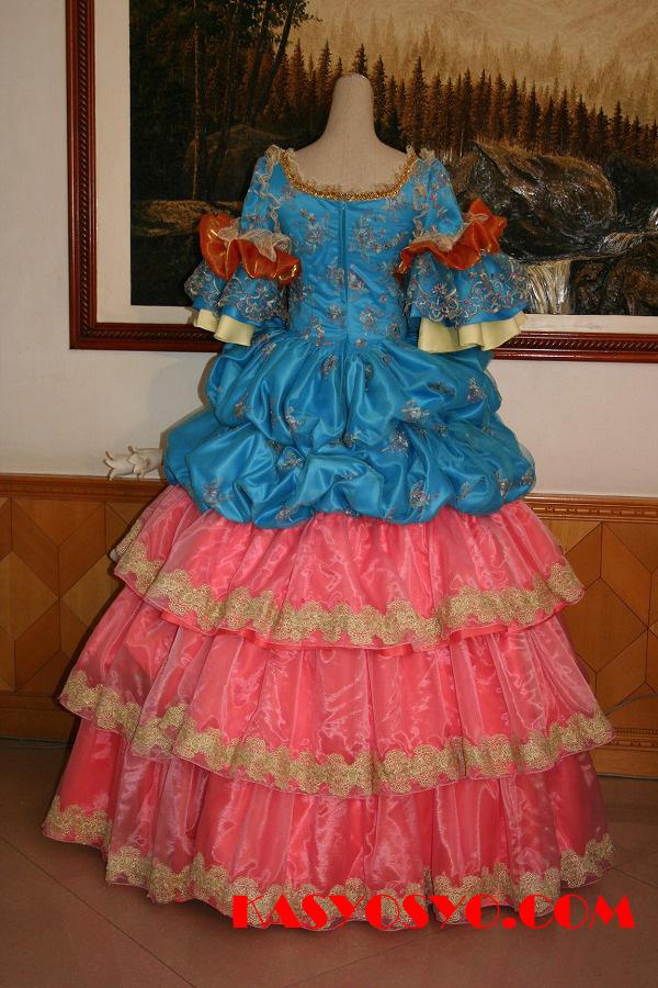 パーティードレス兼舞台衣装4